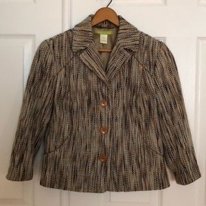Sigrid Olsen Tweed Jacket size 4 P